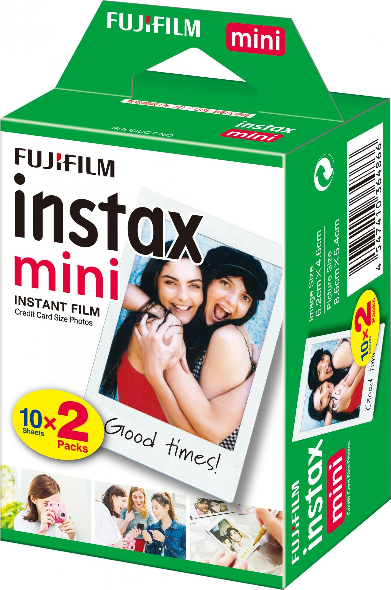 INSTAX mini film 2x10 glossy