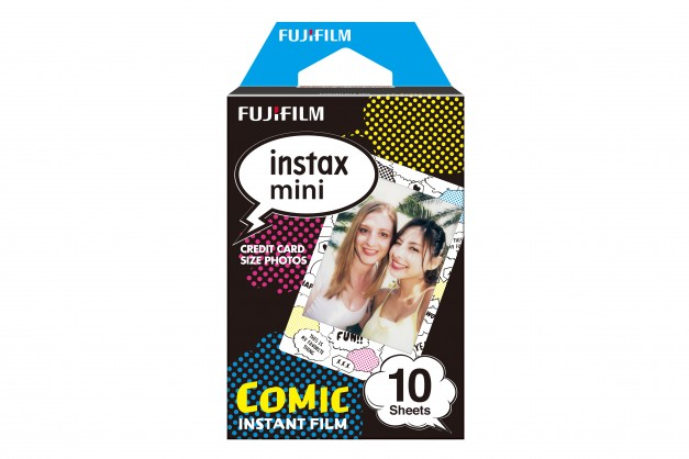 INSTAX mini film 10 COMIC GLASS WW1