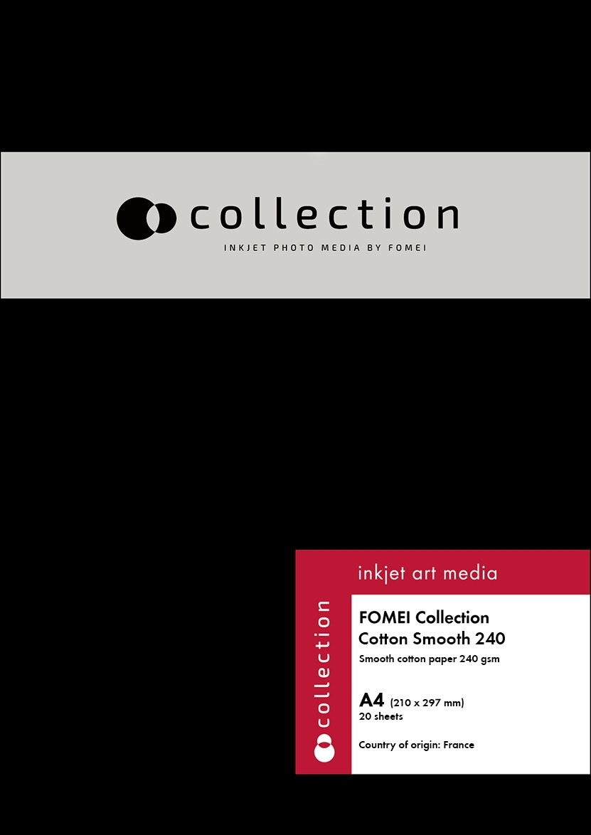 FOMEI Collection Cotton Smooth, A4, 20 listů, 240 g/m2